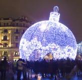 Año Nuevo en Moscú Imágenes de archivo libres de regalías