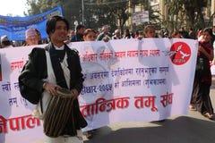 Año Nuevo en Nepal Fotografía de archivo libre de regalías