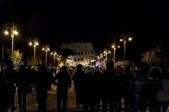 Año Nuevo en Roma Imagen de archivo