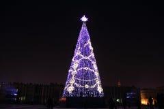 Año Nuevo en St Petersburg Fotografía de archivo