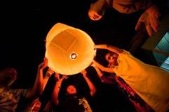 Año Nuevo en Tailandia Imágenes de archivo libres de regalías