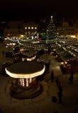 Año Nuevo en Tallinn Foto de archivo