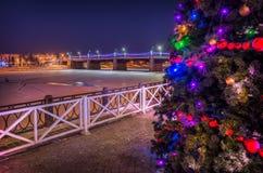 Año Nuevo en Tver Fotografía de archivo