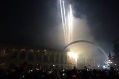 Año Nuevo en Verona Fotografía de archivo