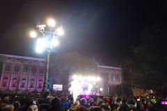 Año Nuevo en Verona Fotos de archivo