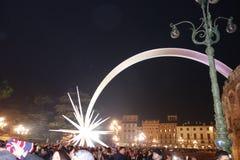 Año Nuevo en Verona Fotos de archivo libres de regalías