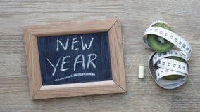 Año Nuevo escrito Foto de archivo