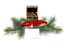 Año Nuevo, etiqueta de la venta, días de fiesta del negocio Imágenes de archivo libres de regalías