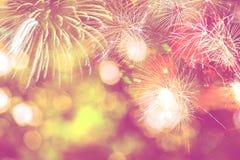 Año Nuevo festivo del fondo Imágenes de archivo libres de regalías