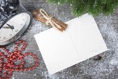 Año Nuevo, fondo del concepto de la Navidad Fotografía de archivo