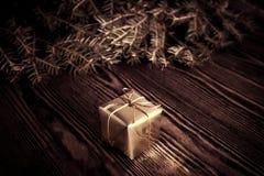 Año Nuevo, fondo del vintage de la Navidad Fotografía de archivo libre de regalías
