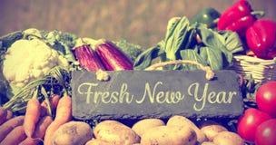 Año Nuevo fresco Fotografía de archivo libre de regalías