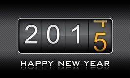 Año Nuevo 2015, invitación, cuenta descendiente, celebración Imágenes de archivo libres de regalías