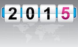 Año Nuevo 2015, invitación, diversión del mundo Fotos de archivo libres de regalías