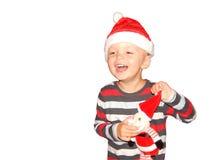Año Nuevo, la Navidad Foto de archivo libre de regalías
