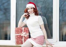 Año Nuevo, la Navidad, celebración de Navidad y conceptos Positivo Imagen de archivo libre de regalías