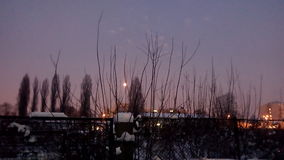 Año Nuevo ligero de Terasa Imagen de archivo