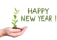Año Nuevo llevado Imágenes de archivo libres de regalías