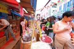 Año Nuevo lunar chino de Chinatown Fotos de archivo
