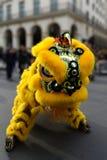 02-16-2018 - Año Nuevo lunar chino en París Fotografía de archivo libre de regalías