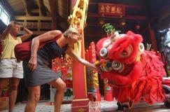 Año Nuevo lunar de Chinesse Fotografía de archivo libre de regalías