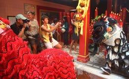 Año Nuevo lunar de Chinesse Imágenes de archivo libres de regalías