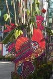 Año Nuevo lunar del gallo Foto de archivo
