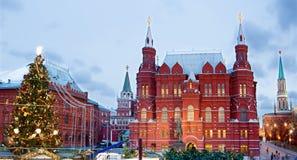Año Nuevo Moscú Foto de archivo libre de regalías