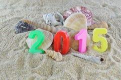 Año Nuevo multicolor 2015 Foto de archivo libre de regalías