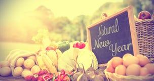 Año Nuevo natural Foto de archivo