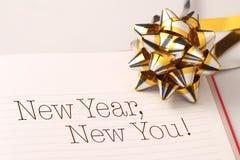 Año Nuevo, nuevo usted Fotografía de archivo