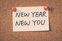 Año Nuevo nuevo usted Imagen de archivo