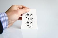 Año Nuevo nuevo usted concepto del texto Fotos de archivo