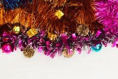 Año Nuevo nuevo Year& x27 de la Navidad; juguetes de s Foto de archivo libre de regalías