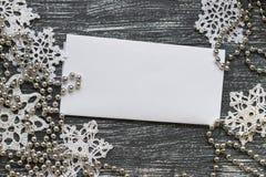 Año Nuevo o papel pintado de la Navidad Fotos de archivo