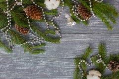 Año Nuevo o papel pintado de la Navidad Foto de archivo