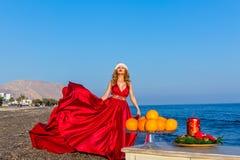 Año Nuevo por el mar Fotografía de archivo libre de regalías
