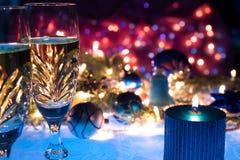 Año Nuevo romántico Fotografía de archivo libre de regalías