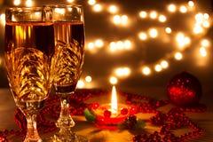 Año Nuevo romántico Fotos de archivo