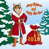 Año Nuevo s Eve 2018-01 stock de ilustración