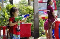 Año Nuevo tailandés de Songkarn - festival del agua Fotografía de archivo libre de regalías