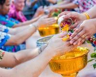 Año Nuevo tailandés de Songkran Fotos de archivo libres de regalías