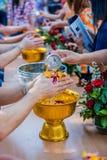 Año Nuevo tailandés de Songkran Imágenes de archivo libres de regalías