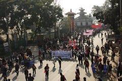 Año Nuevo tradicional en Nepal Fotos de archivo