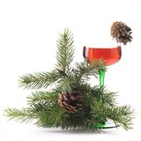 Año Nuevo un buen humor Foto de archivo libre de regalías