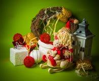 Año Nuevo verde Imagen de archivo