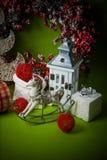 Año Nuevo verde Imágenes de archivo libres de regalías