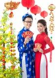 Año Nuevo vietnamita Imagenes de archivo