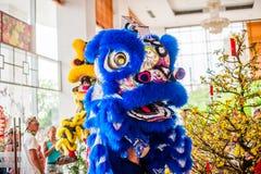 Año Nuevo vietnamita que viene del dragón asiático lunar del Año Nuevo Imágenes de archivo libres de regalías