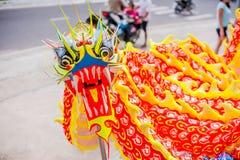 Año Nuevo vietnamita que viene del dragón asiático lunar del Año Nuevo Imagenes de archivo